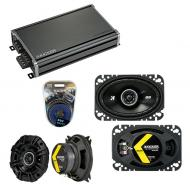 Compatible with Mercedes 420 Series 86-96 Speaker Replacement Kicker DSC4 DSC46 & CXA360.4 Amp