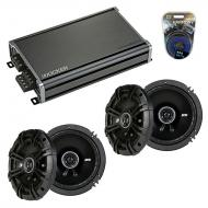 Compatible with Nissan Versa 2007-2011 Factory Speaker Replacement Kicker (2) DSC65 & CXA360.4