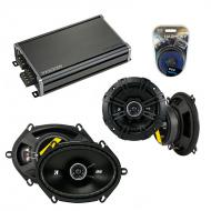 Compatible with Toyota Cressida: Luxury 85-87 Speaker Replacement Kicker DS Series & CXA360.4...