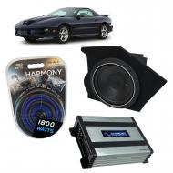 Compatible with 1993-2002 Pontiac Firebird Coupe Driver Side 10 Rockford P1S210 Sub Box Harmony H...