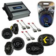 Compatible with Acura RL 1999-2004 Factory Speaker Replacement Kicker DS Series & Harmony HA-...