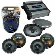 Compatible with Acura TSX 2004-2014 Factory Speakers Replacement Harmony (2)C65 C69 & Harmony...
