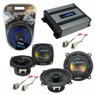 Compatible with Audi 4000 Series 1980-1987 Factory Speaker Replacement Harmony R4 R5 & Harmon...