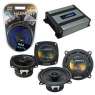 Compatible with Audi Cabrio 1997-1998 Factory Speaker Replacement Harmony R4 R5 & Harmony HA-...