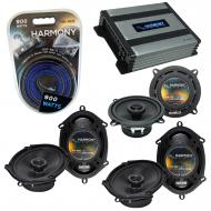 Compatible with BMW 323 1997-2001 Factory Speaker Replacement Harmony (2)R68 R5 & Harmony HA-...