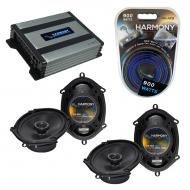 Compatible with BMW 7 Series 1990-1998 Factory Speaker Replacement Harmony (2)R68 & Harmony H...