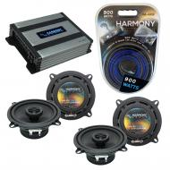 Compatible with BMW 850i 1990-1991 Factory Speaker Replacement Harmony (2) R5 & Harmony HA-A4...