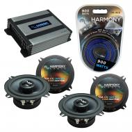 Compatible with BMW 850i 1990-1991 Factory Speakers Replacement Harmony (2) C5 & Harmony HA-A...