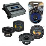 Compatible with BMW M6 1977-1989 Factory Speaker Replacement Harmony R4 R65 & Harmony HA-A400...