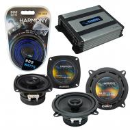 Compatible with Audi 80/90 Series 1988-1996 OEM Speaker Replacement Harmony R4 R65 & Harmony ...
