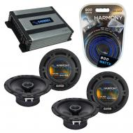 Compatible with BMW X5 2000-2013 Factory Speaker Replacement Harmony (2)R65 & Harmony HA-A400...