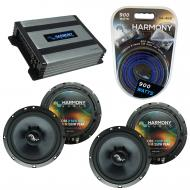 Compatible with BMW X5 2000-2013 Factory Speakers Replacement Harmony (2)C65 & Harmony HA-A400.4
