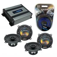 Compatible with BMW Z3 1997-2002 Factory Speaker Replacement Harmony (2) R5 & Harmony HA-A400...