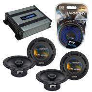 Compatible with BMW Z8 2001-2001 Factory Speaker Replacement Harmony R65 & Harmony HA-A400.4 ...