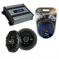 Compatible with BMW Z8 2001-2001 Factory Speaker Replacement Kicker DSC65 & Harmony HA-A400.4...