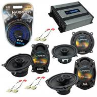 Compatible with Buick Le Sabre 1988-1994 Factory Speaker Replacement Harmony Speakers & Harmo...