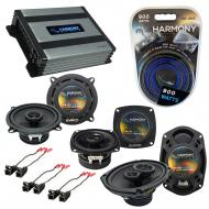 Compatible with Buick Regal 1995-2004 OEM Speaker Replacement Harmony Speakers & Harmony HA-A...