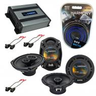 Compatible with Buick Rendevous 02-07 OEM Speaker Replacement Harmony (2) R69 R65 & Harmony H...