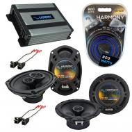 Compatible with Buick Riviera 1996-1999 OEM Speaker Replacement Harmony R65 R69 & Harmony HA-...