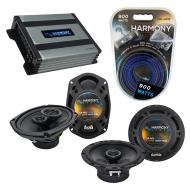Compatible with Cadillac Catera 1997-2001 OEM Speaker Replacement Harmony R65 R69 & Harmony H...