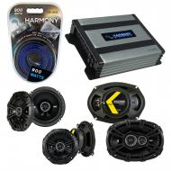 Compatible with Cadillac DeVille 2000-2005 Component Speaker Replacement Kicker DS & Harmony ...