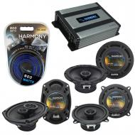 Compatible with Cadillac DeVille 2000-2005 OEM Component Speaker Replacement Harmony & Harmon...
