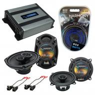 Compatible with Cadillac Fleetwood 93-96 OEM Speaker Replacement Harmony R5 R69 & Harmony HA-...