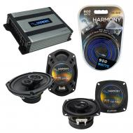 Compatible with Cadillac Seville 1996-1996 OEM Speaker Replacement Harmony R4 R69 & Harmony H...