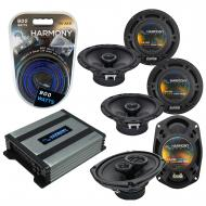 Compatible with Cadillac SRX 2004-2006 Factory Speaker Replacement Harmony R65 R69 & Harmony ...