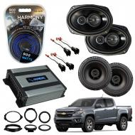 Compatible with Chevrolet Colorado 2015-2018 Factory Speaker Replacement Package R65 R69 Harmony ...