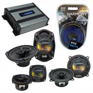 Compatible with Cadillac DeVille 1985-1987 OEM Speaker Replacement Harmony Speakers & Harmony...