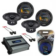 Compatible with Chevy Astro Van 1996-2005 Factory Speaker Replacement Harmony (2) R65 & Harmo...