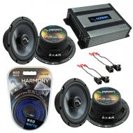 Compatible with Chevy Astro Van 1996-2005 Factory Speakers Replacement Harmony (2) C65 & Harm...