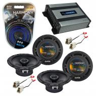 Compatible with Chevy Aveo (Hatchback) 07-08 OEM Speaker Replacement Harmony (2) R65 & Harmon...