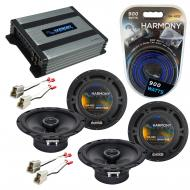 Compatible with Chevy Aveo 2004-2006 Factory Speaker Replacement Harmony (2) R65 & Harmony HA...