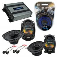 Compatible with Chevy Beretta 1991-1996 OEM Speaker Replacement Harmony R46 R69 & Harmony HA-...