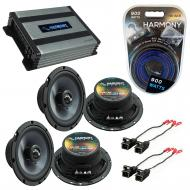 Compatible with Chevy Camaro 1993-2002 Factory Speakers Replacement Harmony (2) C65 & Harmony...