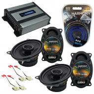 Compatible with Chevy CK Truck (Full Size) 88-94 Speaker Replacement Harmony (2)R46 & Harmony...