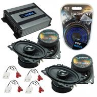 Compatible with Chevy CK Truck (Full Size) 88-94 Speakers Replacement Harmony (2)C46 & Harmon...