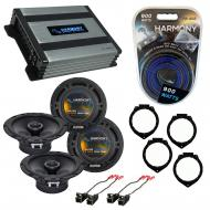Compatible with Chevy Cobalt 2005-2010 Factory Speaker Replacement Harmony (2)R65 & Harmony H...