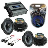 Compatible with Chevy Colorado 2004-2012 Factory Speakers Replacement Harmony (2) C65 & Harmo...