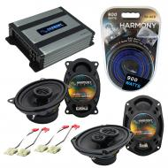 Compatible with Chevy Corvette 1978-1983 OEM Speaker Replacement Harmony R46 R69 & Harmony HA...
