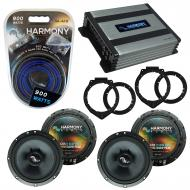Compatible with Chevy Express 2008-2017 OEM Speakers Replacement Harmony (2) C65 & Harmony HA...