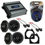 Compatible with Chevy Express Van 1996-2002 Speaker Replacement Kicker (2) DC65 & Harmony HA-...