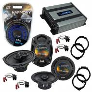 Compatible with Chevy HHR 2006-2012 OEM Speaker Replacement Harmony R65 R69 & Harmony HA-A400...