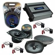Compatible with Chevy Impala SS 1994-1996 Speakers Replacement Harmony C46 C69 & Harmony HA-A...