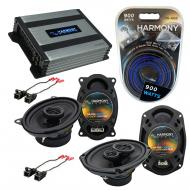 Compatible with Chevy Malibu Classic 04-05 OEM Speaker Replacement Harmony R46 R69 & Harmony ...