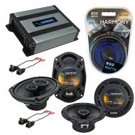 Compatible with Chevy Monte Carlo 00-07 OEM Speaker Replacement Harmony R65 R69 & Harmony HA-...