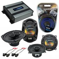Compatible with Chevy Monte Carlo 1995-1999 OEM Speaker Replacement Harmony R5 R69 & Harmony ...