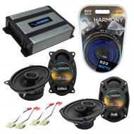 Compatible with Chevy S-10 Blazer 82-89 OEM Speaker Replacement Harmony R46 R69 & Harmony HA-...